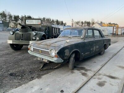 1968 FORD CORSAIR DELUXE 1.7 V4 IN ALPINA GREEN FAMILY OWNED SINCE NEW BARN FIND