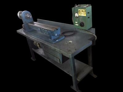 Pratt Whitney M-1689 10 X 20 Table Mounted Bench Top Lathe