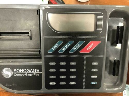 Sonogage Corneo Gage Plus Pachymeter With Printer for Parts As Picured