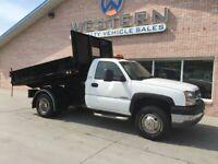 2003 Chevrolet Silverado 3500 4x4 Dump Truck 4wd