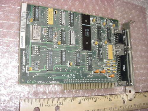 IBM 6135932 SERIAL PARALLEL ADAPTER ISA 8-BIT - 1984