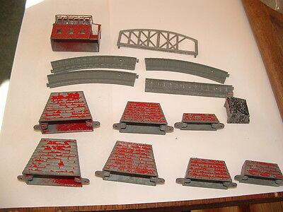 VINTAGE 1960's LONE STAR Ramps   Signal Box  & TRACK N GAUGE buffer             for sale  Shipping to Nigeria