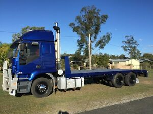 iveco Stralis 2005 Beavertail Carry 14 ton PTO hydraulics Yatala Gold Coast North Preview