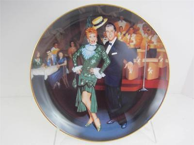 Hamilton I Love Lucy Plate NIGHT at COPA Signed Box Lucie Arnaz New COA Video