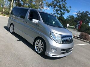 2005 Nissan Elgrand E51 Series 2 Highway Star Silver 5 Speed Automatic Wagon Arundel Gold Coast City Preview