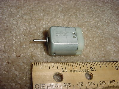 Small Dc Electric Motor 6- 12 Vdc 8600 Rpm 10 G-cm M37