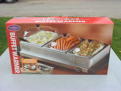 Nostalgia Electrics Buffet Warmer
