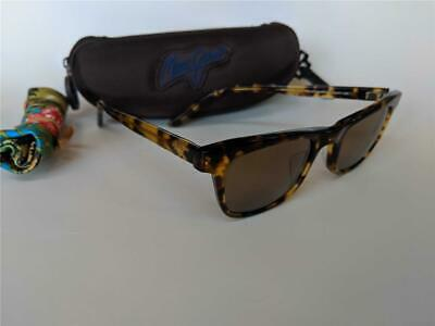 New Maui Jim Aloha Friday Light Tortoise/HCL Bronze 241-10L Glass Vintage (Maui Jim Styles)