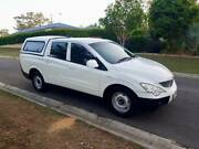 2008 Ssangyong Actyon Sports Ute- 4cyl Turbo Diesel Dual cab**** Camira Ipswich City Preview