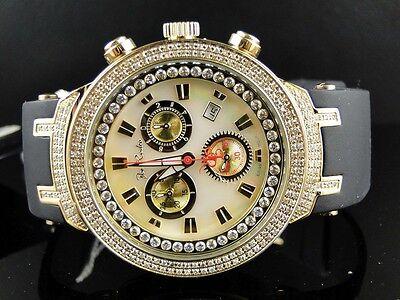 New Mens Joe Rodeo/Jojo White Face Master 242 Diamond Watch 2.2 Ct Jjm 87 for sale  Shipping to India