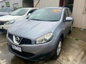 2010 Nissan Dualis J10 MY10 ST (4x2) Grey 6 Speed Manual Wagon Hoppers Crossing Wyndham Area Preview