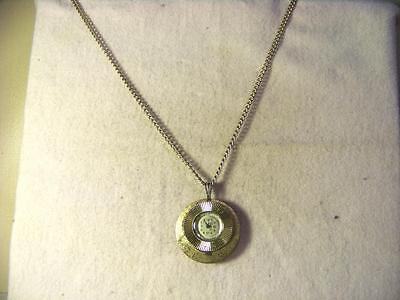 LUCERNE MECHANICAL PENDANT WATCH WITH 23-1/2