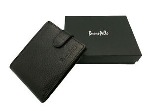 NEW-REAL-LEATHER-MENS-HIGH-QUALITY-LUXURY-SOFT-DESIGNER-SLIM-WALLET-BUONO-PELLE