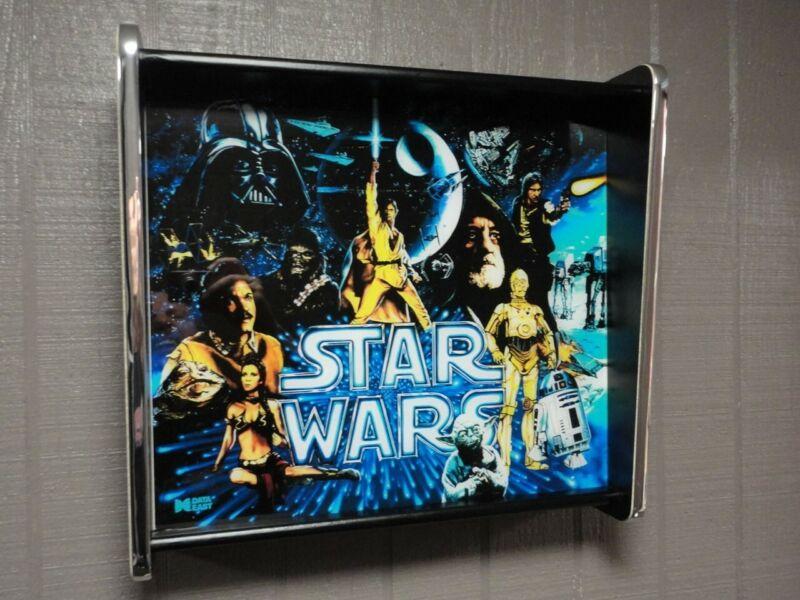 Star Wars Data East Pinball LED Backglass Display light box