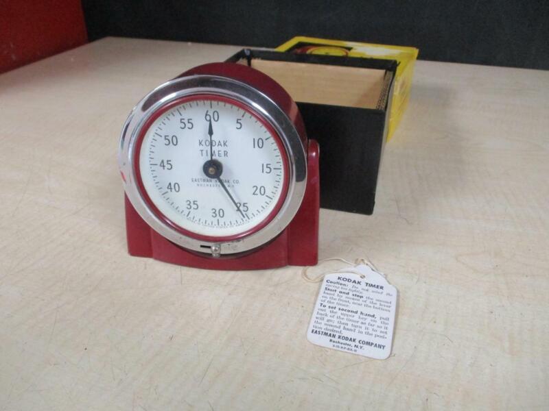 """KODAK """"8239 DARKROOM TIMER MINT CONDITION VINTAGE PIECE WITH BOX"""