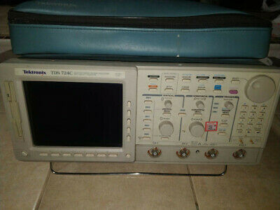 Tektronix Tds724c 500 Mhz Digital Oscilloscope Used.
