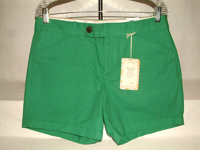 #3095 DOCKERS STRETCH SHORTS, FLAT FRONT, SIZE 10, SIDE POCKETS, BUTTON/ZIP, NWT