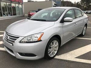 2013 Nissan Sentra SL Leather Interior