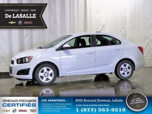 2015 Chevrolet Sonic LT -- COURTESY CAR --