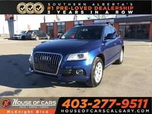 2015 Audi Q5 TFSI Quattro / Leather / Sunroof / Navi