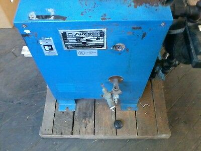 Sussman ES12 Moving Steam Boiler, 12 KW, 100 psi, Used, 208 Volt/42 amp/3 ph