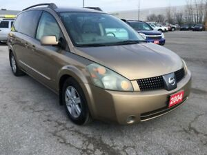 2004 Nissan Quest SL/LEATHER/ROOF/DVD/ALLOYS