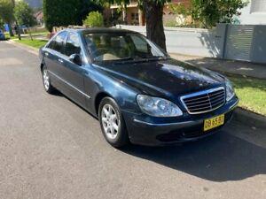 2003 Mercedes-Benz S350 W220 Blue 5 Speed Auto Touchshift Sedan Lidcombe Auburn Area Preview