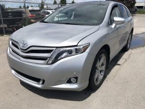2016 Toyota Venza LIMITED AWD, LEATHER, SUNROOF, NAVIGATION, BLU