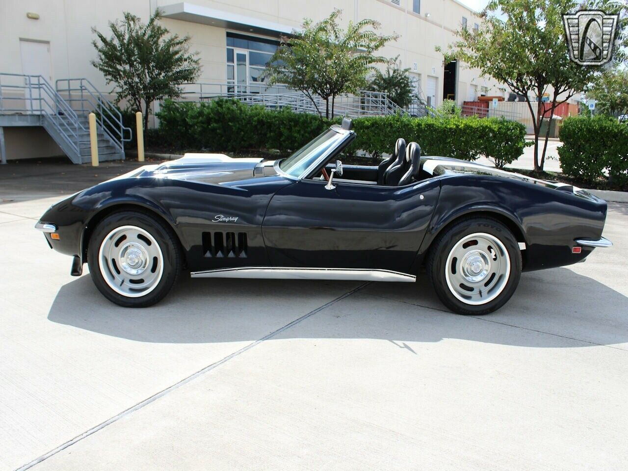 1969 Black Chevrolet Corvette   | C3 Corvette Photo 7