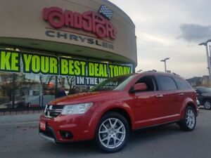 2014 Dodge Journey R/T NAVI DVD 7 PASS REAR CAM