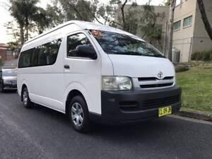 Rent A Van /Mini Bus - 12 Seater, Toyota Hiace Commuter Hire
