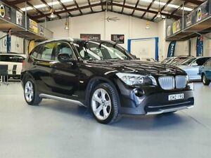 2011 BMW X1 E84 MY11 xDrive 25I Black Sapphire 6 Speed Automatic Wagon Seven Hills Blacktown Area Preview