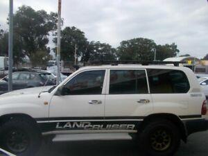 2001 Toyota Landcruiser HZJ105R (4x4) White 5 Speed Manual 4x4 Wagon Maddington Gosnells Area Preview