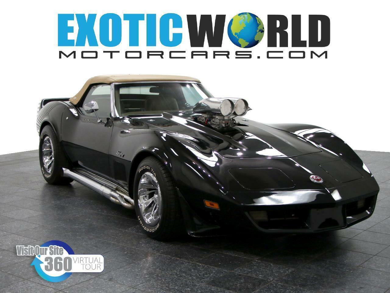 1974 Black Chevrolet Corvette   | C3 Corvette Photo 1