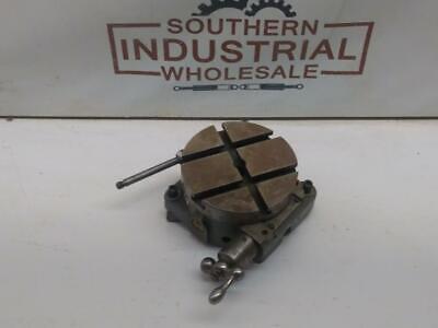 Rare South Bend Lathe Co. Rtb100 4-12 Micro Precision Rotary Table