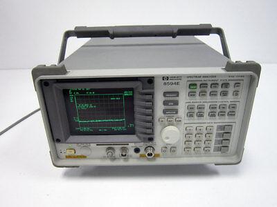 Hp Agilent Keysight 8594e 2.9 Ghz Portable Spectrum Analyzer 004 041 105 101 102