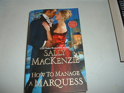 How To Manage A Marquess - Sally MackKenzie - 2016 - A Spinster House Novel