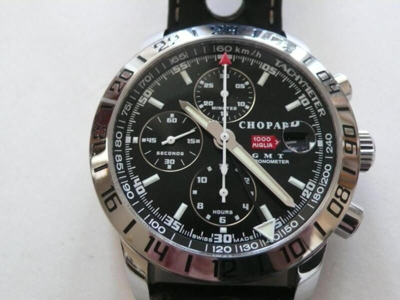 CHOPARD MILLE MIGLIA GMT CHRINOGRAPH REF.8992 ,  FULLY SERVICED - watch picture 1