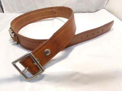 Bisley Quality Leather Belt Plain or Stitched 1st Class Post