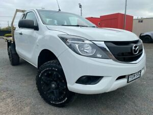 2016 Mazda BT-50 MY16 XT (4x4) White 6 Speed Automatic Cab Chassis Hoppers Crossing Wyndham Area Preview