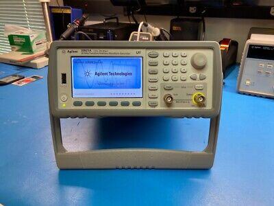 Agilent Hp Keysight 33521a Arbitrary Waveform Generator Function Generator