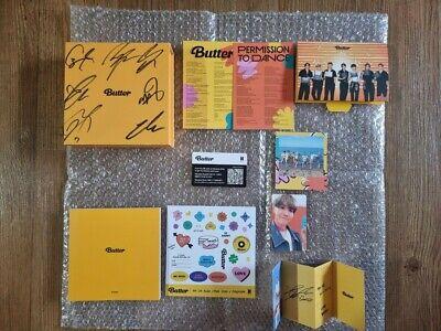 BTS BANGTAN BOYS Promo Butter Album Autographed Hand Signed