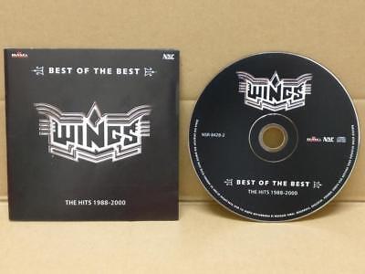 Malay Band Wings The Hits 1988-2000 2003 Mega Rare Malaysia BMG CD (Wings Band Malaysia)