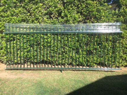 Decorative Aluminium Fencing x 2 panels Manly West Brisbane South East Preview