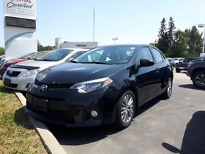 2014 Toyota Corolla LE with Upgrade Package
