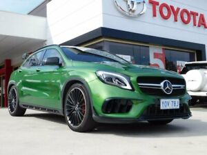 2018 Mercedes-AMG GLA 45 AMG 4MATIC X156 MY18.5 Night Edition Green 7 Speed Auto Dual Clutch Wagon Greenway Tuggeranong Preview