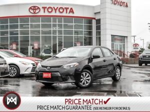 2015 Toyota Corolla LE HEATED SEATS, BLUETOOTH, USB Another Incr