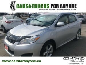 2009 Toyota Matrix AWD l 115v Plug l Roof Rack