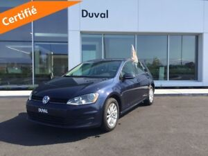 2016 Volkswagen Golf COMFORTLINE - BLUETOOTH *MANUELLE * CAMERA