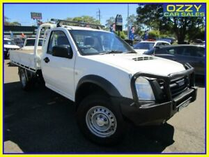 2011 Isuzu D-MAX TF MY10 EX (4x4) White 5 Speed Manual Cab Chassis Penrith Penrith Area Preview
